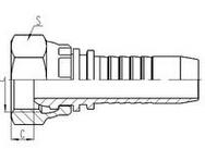 英制内螺纹管接头 G3/8-G4参数介绍