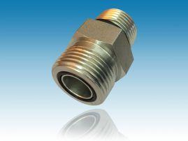 美制ORFS螺纹O型圈平面密封管接头 FS6400系列